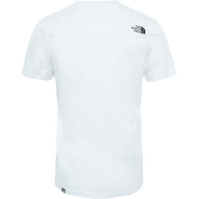 The North Face Simple Dome S/S Tee Herr tnf white